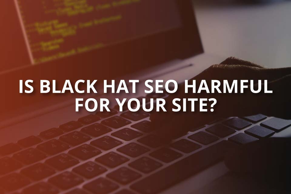 is black hat seo harmful for your site
