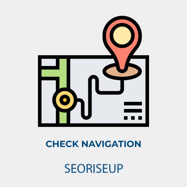 check navigation