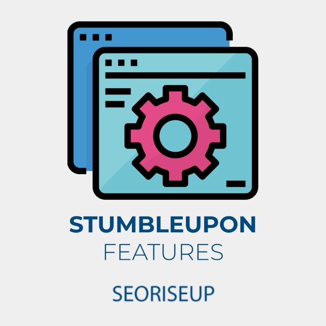 stumbleupon features